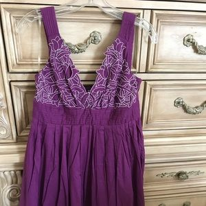Minuet 'Retro style' purple dress M